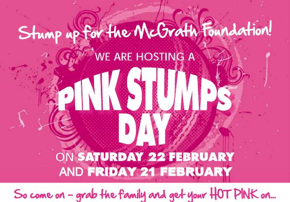 2014 Pink Stumps Graphic