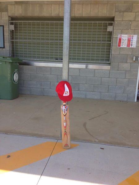 Bat and Hat tribute, Albany Creek