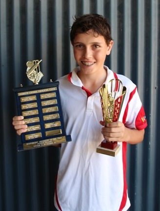Jordan Rooke, Half-season Cricketer of The Year, 2015