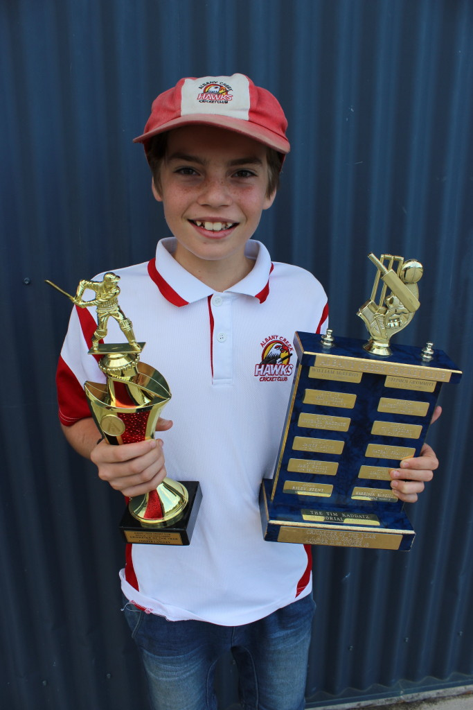 Cooper Langley, U13 Eagle Hawks, Cricketer of the Year